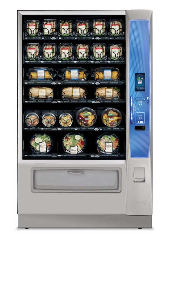 High Tech Vending With Surevend Vend Cafe Serving The
